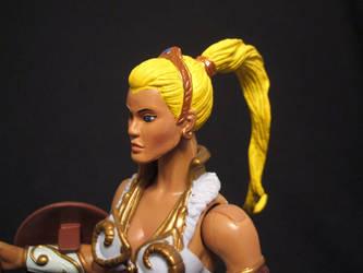 MOTUC custom Blonde Teela 2 by masterenglish