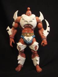 MOTUC custom War-Wolf V2 WIP by masterenglish