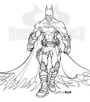 Ultimate JLA Batman_ink by macuy19