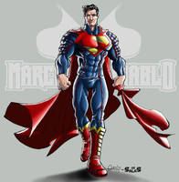 ultimate JLA Superman_color by macuy19