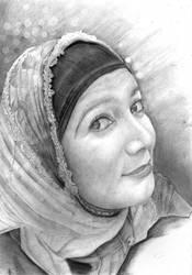 Wife portrait by johnsdue