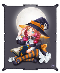The little Witch by Aramisdream