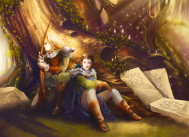 The journey by Aramisdream