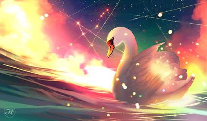 Cygnus by Aramisdream