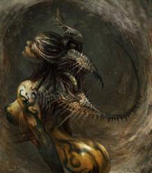 Alien by tahra