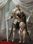 The retirement ceremony of an old knight by tahra
