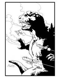 Godzilla by GentlemanNerd