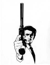Clint Eastwood by GentlemanNerd
