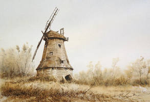 old mill by stefanzhuty