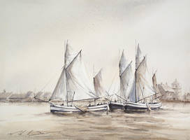 sailing ships by stefanzhuty