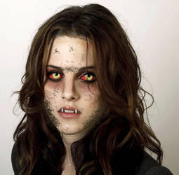Kristen Stewart Werewolf 2.5 (2013) by Foolish-Water