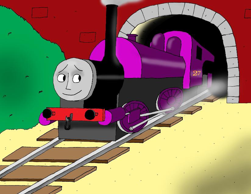 Derek the Steam Engine by Foolish-Water