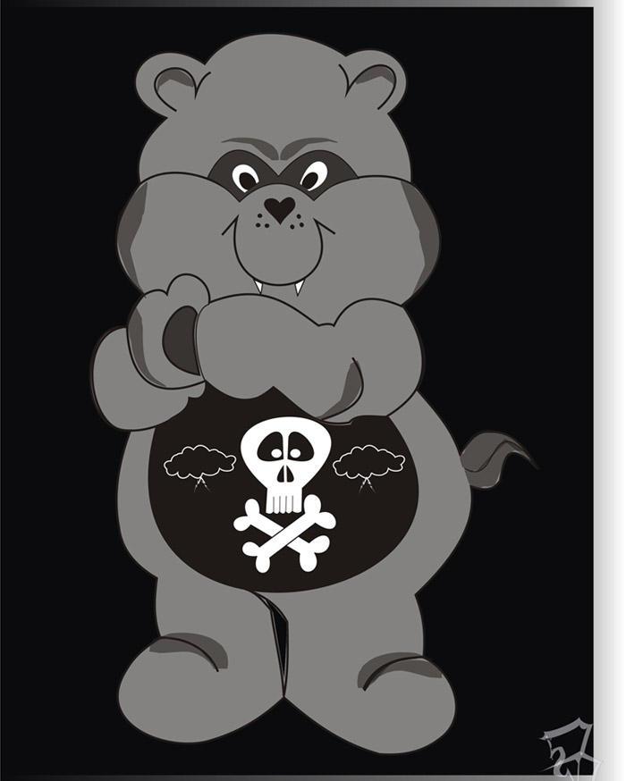 Care Bears Wallpaper: Evil Care Bear By Eisv On DeviantArt