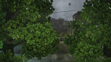 Rainy Window by redcatbox