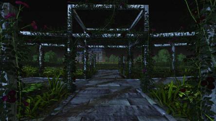 Night Garden by redcatbox