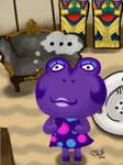Animal Crossing Fanart : Diva by LadyMint-Art