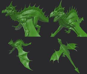 Dragon by Stranger1988