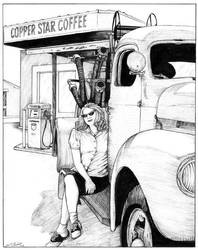 Hot Coffee by DocRedfield