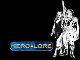 Hero-Lore wallpaper 1 by DocRedfield