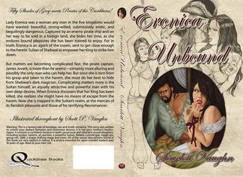 Eronica Unbound - Book Cover by DocRedfield