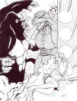Kong Vs Godzilla REMATCH by DocRedfield