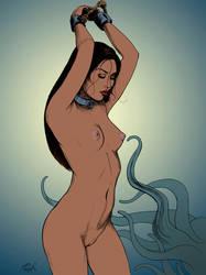 Nude sacrifice by DocRedfield