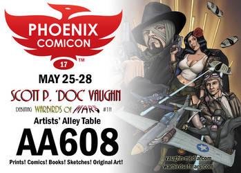Phoenix Comicon 2017 by DocRedfield