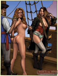 Tayler - Pirate Queen's Captive by DocRedfield