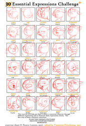 30 expressions challenge by Dormin-Kanna
