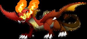 Mike the dragon by Dormin-Kanna