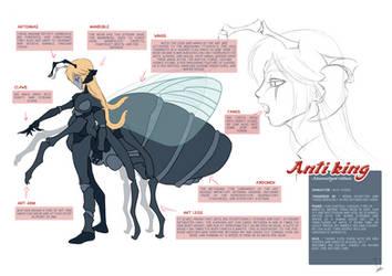 Anti king -  Akumatized villain - Alix Viyers mlb by Dormin-Kanna