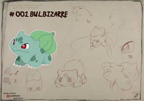 001 Bulbasaur by Dormin-Kanna