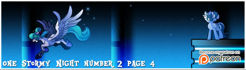 osn number 2 page 4 is out on patreon by Dormin-Kanna