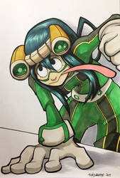 Call Her Tsuyu - Commission by aaronmizuno