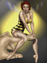 Marvel Cheesecake:Wasp II by lovelyzitalee