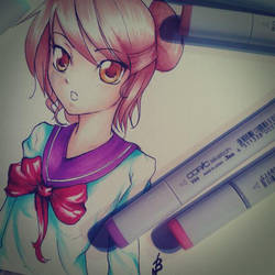 Copic Test by Nicky-Milky