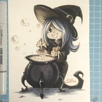 Fanart - Little witch academia - Sucy by Nicky-Milky