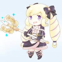 Chibi Elise by soyulmayo