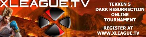 XLEAGUE.TV Tekken Banner by Fastlegs