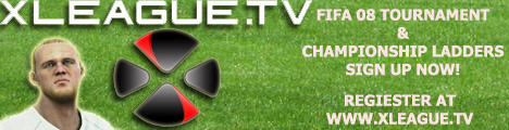 FIFA08 Banner for XLEAGUE.TV by Fastlegs