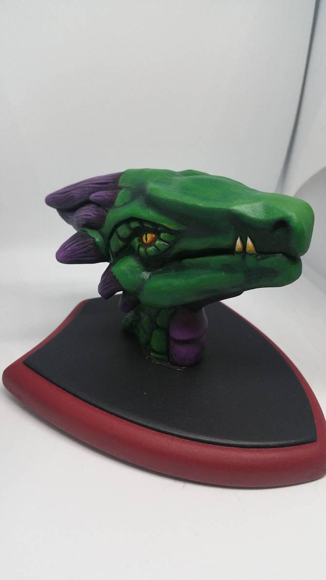 Mini Dragon mount by Lazerchief
