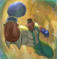 Dudley Street fighter by TeoGonzalezColors
