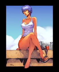Ayanami Rei by TeoGonzalezColors