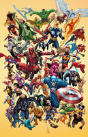 Marvel Poster by TeoGonzalezColors