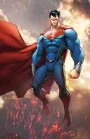 Superman Commission by TeoGonzalezColors