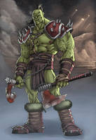 ORC Wow by TeoGonzalezColors