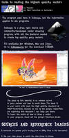 Vector Guide #1: High quality pony vectors by Quasdar