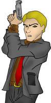 Secret Agent Man - colour by spoofe