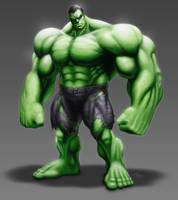 Hulk by ChuddmasterZero
