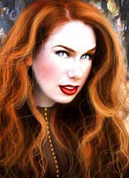 Victoria Painting Concept by MidnightPhoenixx